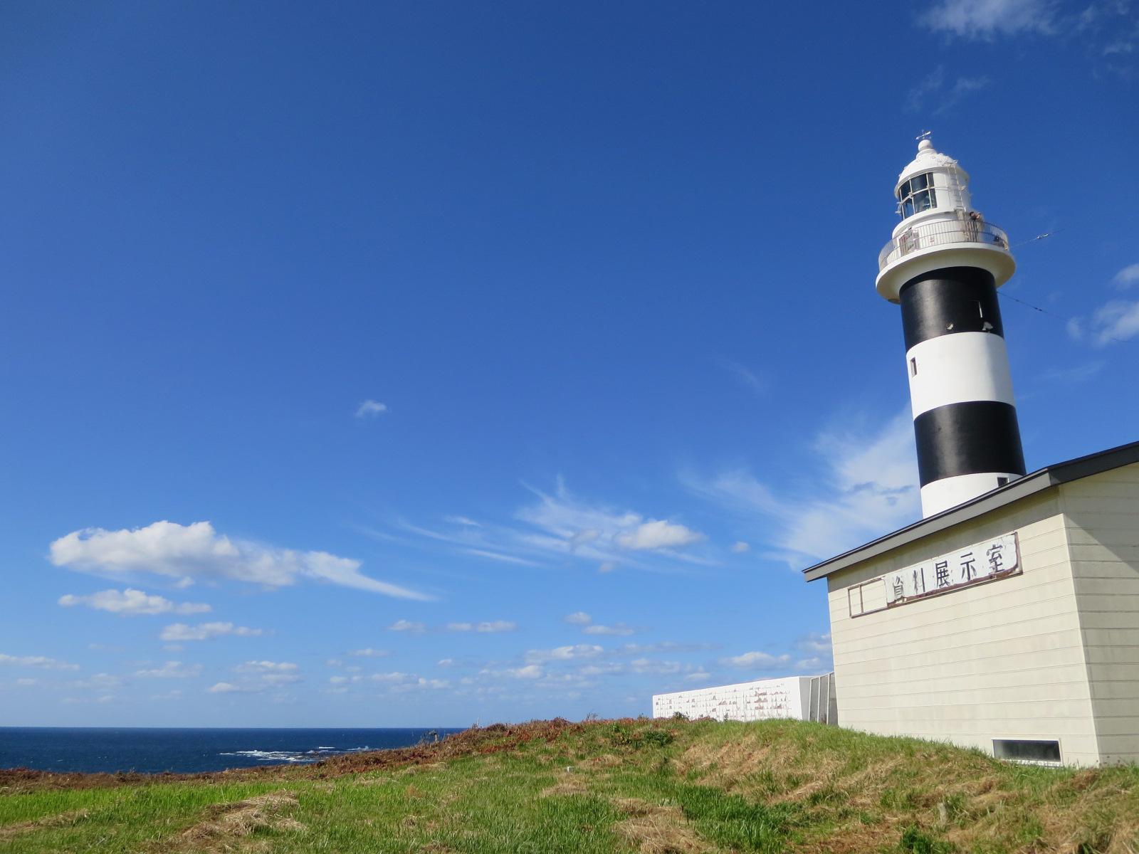 灯台と空と海が見える場所。
